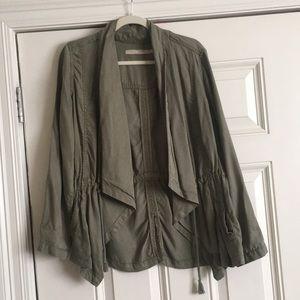 Max Jeans Olive Cardi Tencel Jacket